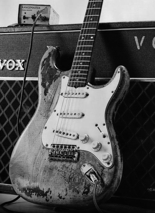 Rory Gallagher's guitar